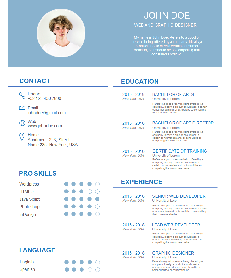 Professional Resume Template 7